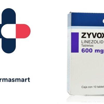 Zyvoxam 600 mg tabletas al mejor precio en México