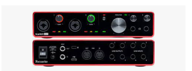 Putting Those Lovely Guitar Tunes Together With the Best 4-Channel Audio Interface.