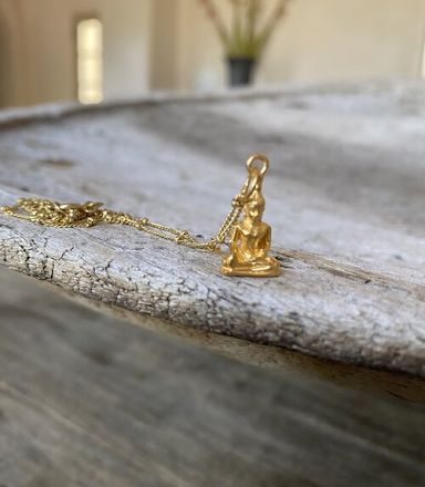 Connect with Yourself and Your Surroundings Deeper with the Symbolic Buddha Charm Necklaces
